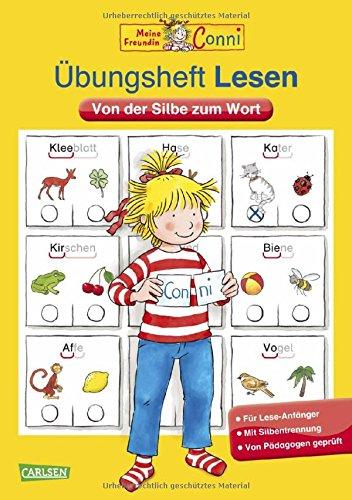 Preisvergleich Produktbild Conni Gelbe Reihe: Übungsheft Lesen: Von der Silbe zum Wort
