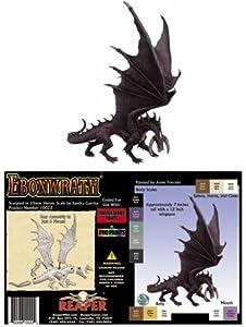 Reaper Miniatures 10022 - Figuras Grandes: Negro Dragon (sin Pintar) Importado de Alemania