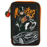 Monster Cars 8585 - 3-fach Federtasche