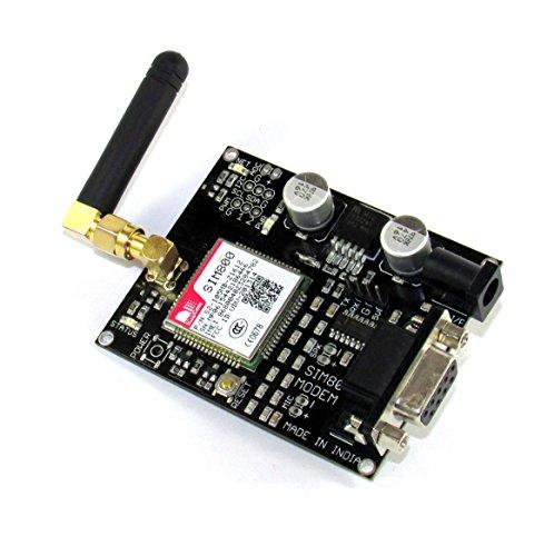 Maker and Hacker SIM800 Quadband GSM / GPRS MODULE WITH SMA ANTENNA for Arduino