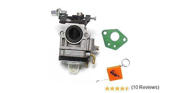 HURI Carburateur Joint pour D/ébroussailleuse Multifonction 4 en 1 et tari/ère 52cm3 49cm3 43cm3
