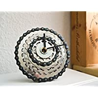Upcycling Design Uhr Fixie London Bike Fahrrad, Fahrrad Uhr, Geschenkidee, Tour de France, Radsport