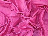 Uni Taft Kleid Stoff hell rosa–Meterware