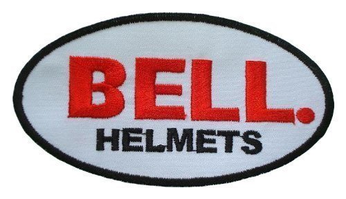 BELL-Casco bici bicicletta moto con Logo Clothing ferro o Sew on by Fullmoon Patch (Logo Del Casco Patch)