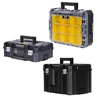 STANLEY FATMAX TSTAK Box III + Box V + Box VI 3 Werkzeugboxen