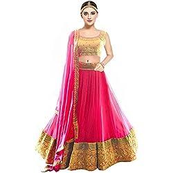Ramapir Fashion Exclusive Designer Pink Lehenga Choli