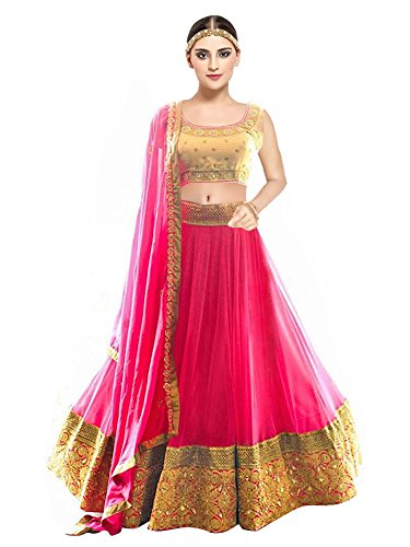 New Latest Designer Party wear Pink and Beige Color Bridal Look Heavy...