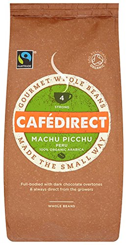 cafedirect-fairtrade-machu-picchu-whole-bean-coffee-227g-pack-of-2