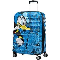 American Tourister -Disney Wavebreaker Spinner 67/24 Koffer, 67 cm, 64 L, Donald Duck