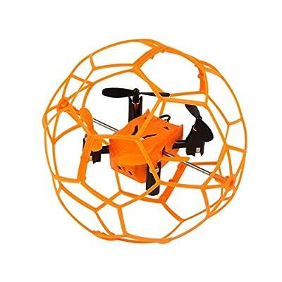 Dazhong 2.4GHZ 4CH 6-Axis giroscopio sfera RC Quadcopter Drone con la modalit¨¤ senza testa e un tasto di ritorno