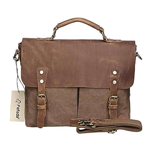 Fafada 14 Zoll Laptoptasche Herren Damen Umhängetasche Messenger Bags Handtasche