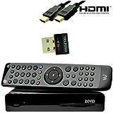 VU+ ZERO 1x DVB-S2 inkl. 150Mbit Wlan-Stick von NA-Digital Linux Full HD Satelliten-Receiver (Sat, 1080p, HDMI) schwarz