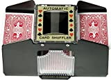 Fat Cat Poker/Casino Game Table Accessory: Automatic Playing Card Shuffler, Holds 1-4 Decks by Fat Cat by GLD Products