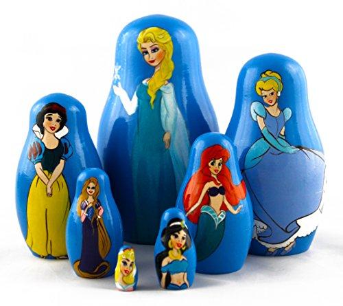 siete-princesas-matrioska-babuska-de-madera-munecas-rusas-frozen-elsa-cenicienta-blancanieves-ariel-