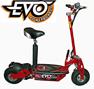 1000W Evo Powerboard electric scooter LED lights turbo, terrain tyres C166 (Red)