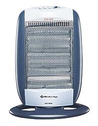 Bajaj Majesty RHX 3 New 1200-Watt Room Heater (Black and Silver)
