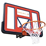 BEE-BALL ZY-020 NBA Size Basketball Hoop with Backboard, Flex Ring and Net