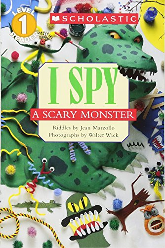 I Spy a Scary Monster por Jean Marzollo