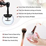 Galact Makeup Brush Cleaner Upgraded, Portable Electronic Automatic Brushes Cleaner, Cleans and Dries Makeup Brushes in Seconds.