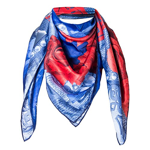 versace-1969-abbigliamento-sportivo-srl-damen-schal-blau-rot