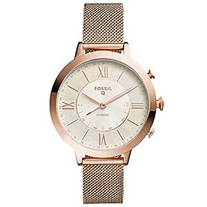 Fossil Moterims Analog Quarz Smart Watch Rankinis Laikrodis mit Edelstahl Armband FTW5018