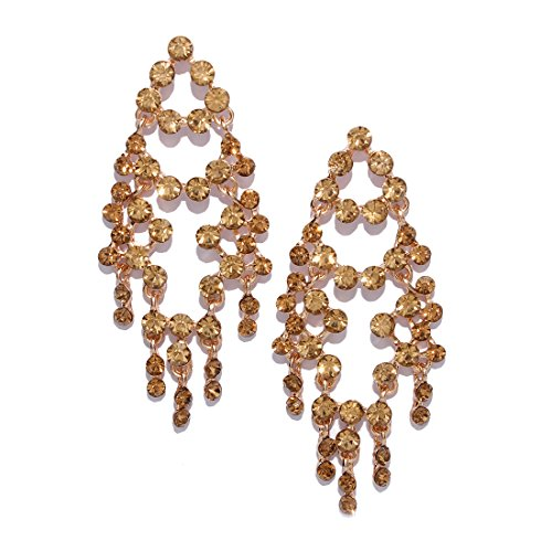 152ff5c57 Bellofox 'Enchanted' Statement Style Dangle-Drop Statement Earrings for  Women & Girls -