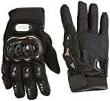 #7: Probiker Leather Motorcycle Gloves (Black, XXL)