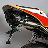 Auspuff Bodis Oval Q1-S Slip-On Edelstahl poliert Honda CBR 600 RR PC40 ABS