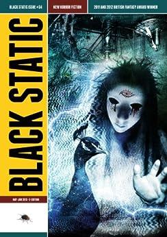 Black Static #34 (Black Static Horror and Dark Fantasy Magazine Book 2013) by [TTA Press Publisher,  Rucker, Lynda E., Allan, Nina, Lane, Joel, Lerman, Ilan, Hook, Andrew, Logan, Sean Logan]