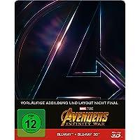Avengers: Infinity War Steelbook - 3D + 2D