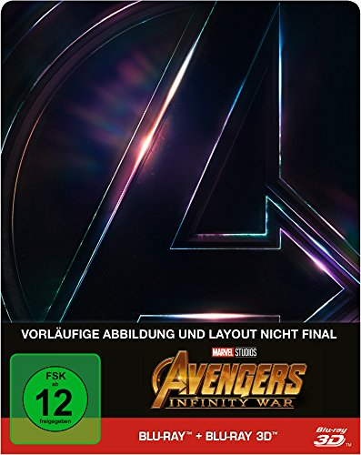 Avengers: Infinity War Steelbook - 3D + 2D [3D Blu-ray] [Limited Edition] (Film-dvd Fury)