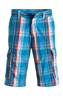 edc by Esprit Men's 056cc2c018 Kariert Im Cargo Stil Shorts