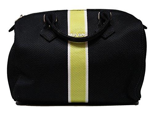 Borsa Mia Bag Bauletto neoprene con fascia contrasto Art. 14328