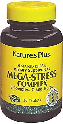 Nature's Plus - Mega Stress 30 Comp N by Nature s plus