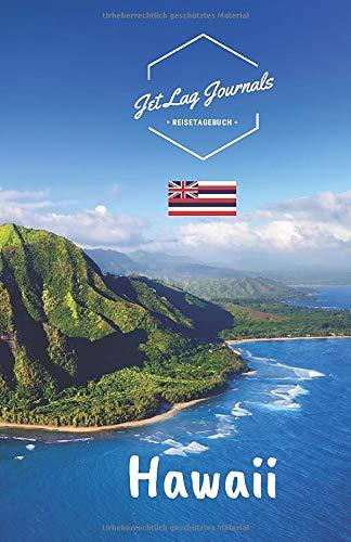 JetLagJournals • Reisetagebuch Hawaii: Erinnerungsbuch zum Ausfüllen   Reisetagebuch zum Selberschreiben für den Hawaii Urlaub