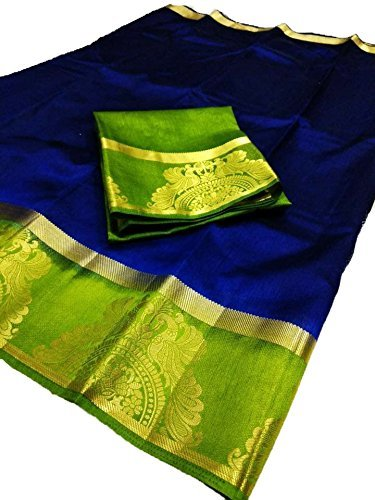 Nirja Creation Multi Color Traditional Fancy Party wear Cotton Silk Saree (6...