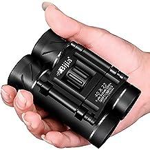 UrChoiceLtd® 2017 Nueva Bijia 40X22 lente óptica portátil de alta definición HD FMC BaK4 Telescopio de visión nocturna completa de binoculares para caza y viajes al aire libre (negro 3)