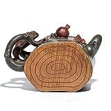 ZJPP Regalo per teiera in Ceramica, moncone di Minerale Originale, Esposizione di teiera Antica Imitazione, tè da Cerimonia per Arte