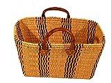 Marrakech Accessoires Korbtasche Einkaufskorb Strandkorb Ibiza Tasche Korb Afrika