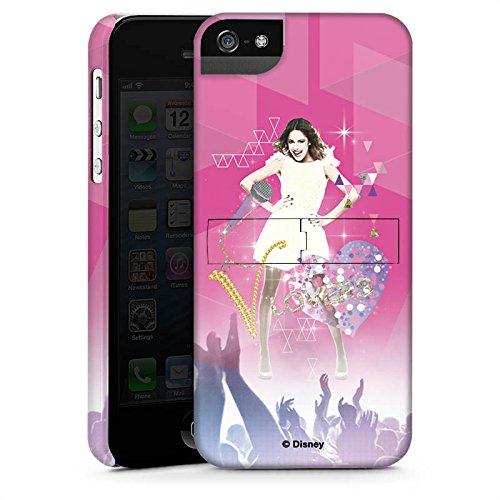 Apple iPhone SE Hülle Case Handyhülle Disney Violetta Fanartikel Geschenke Premium Case StandUp