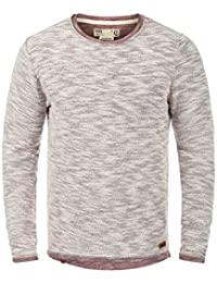 SOLID Flocky Pull en maille fine - Homme