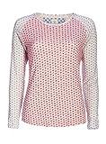 PiP Studio Damen Tommy Shirt Top Langarm Schlafanzug - Oberteil Long Sleeve, Grösse:S - 36;Farbe:rosa