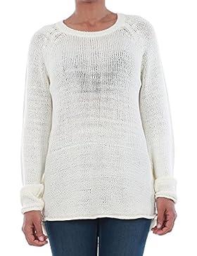 Jersey Vero Moda Mujer Blanco roto 10192178 VMKAKI LS O-NECK BLOUSE PRISTINE
