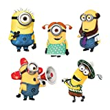 PARTY PROPZ MINION CARDSTOCK CUTOUT 10PC...