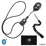 CamKix® Kamerablenden-Fernbedienung mit Bluetooth®-Technologie - Armband + Schlüsselband (abnehmbare Armatur für die Fernbedienung) - Erfassen Sie Bilder/Videos drahtlos aus bis zu 10 m