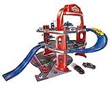 Majorette 212053743WOW - Spielzeuggarage, Urban Garage mit 1 Auto, Mehrfarbig