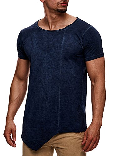 Sublevel -  T-shirt - Basic - Maniche corte  - Uomo blu XXL