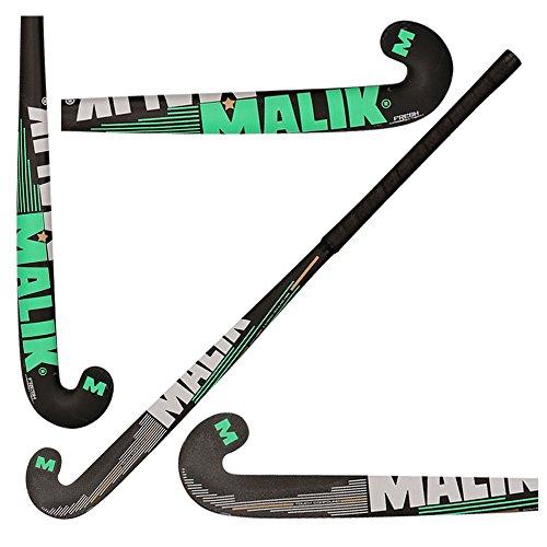 Malik Hockey Carbon Tech Feldhockey Outdoor Multi Curve Fresh 2018-50% Carbon-5% Kevlar-45% Fasern Glas, 36.5