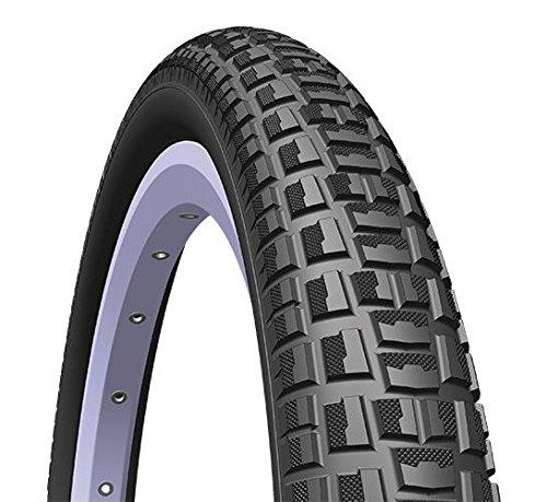 Rubena/Mitas Unisex Nitro X Draht Bead x Dirt Jump BMX-Reifen x1, schwarz, Gr. 20x 2.00