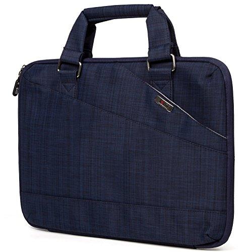 Notebook Tasche Laptoptasche Hülle Nylon Aktentasche Protector Wasserdicht Tragetasche für 13 Zoll Ultrabook, Macbook Air, MacBook Pro - Blau (Reise-notebook-tragetasche)